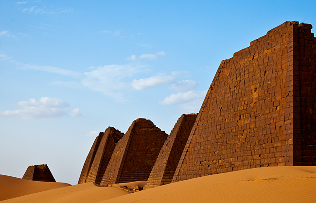 Pyramids of the Meore's Necropolis (Sudan - 2011)