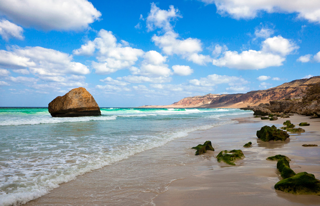 View of Ar Ar beach in Socotra Island (Socotra Island - Yemen - 2012)